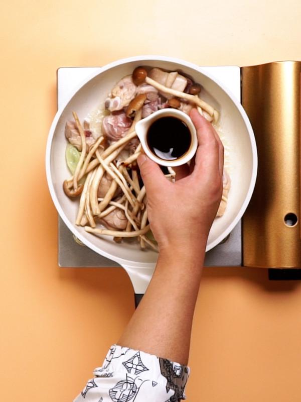茶树菇炖鸡的家常做法