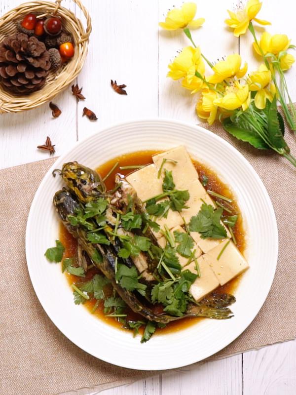 嘎鱼炖豆腐成品图