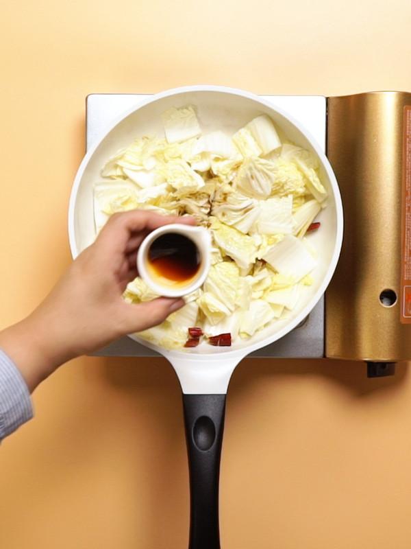 糖醋白菜的简单做法