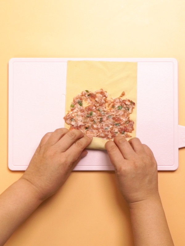 卤肉卷的步骤