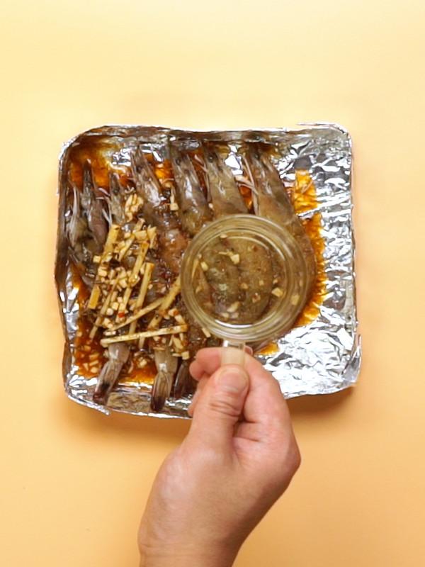 烤大虾的简单做法