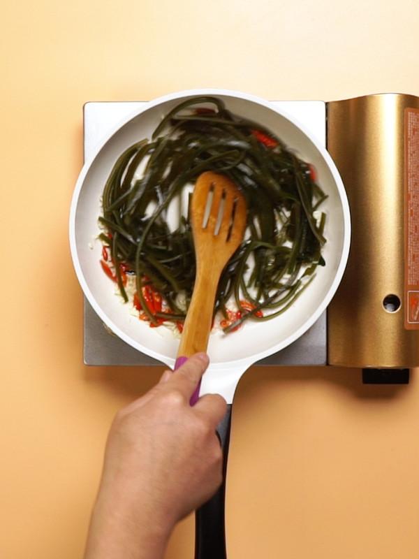 辣炒海带丝怎么吃