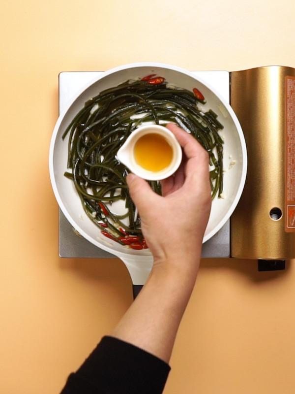 辣炒海带丝怎么做