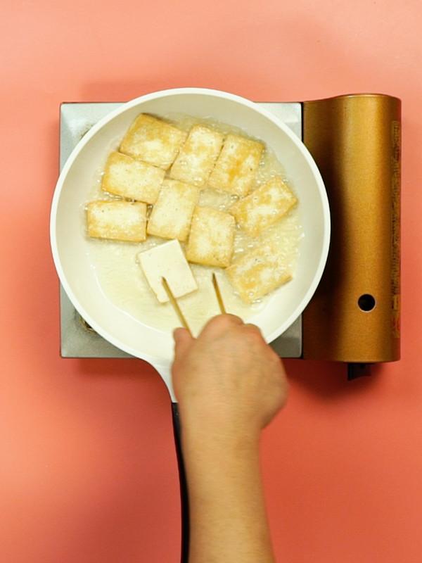 葱炖豆腐的做法图解