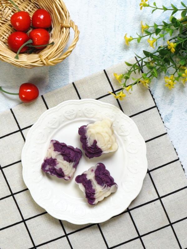 紫薯山药糕成品图