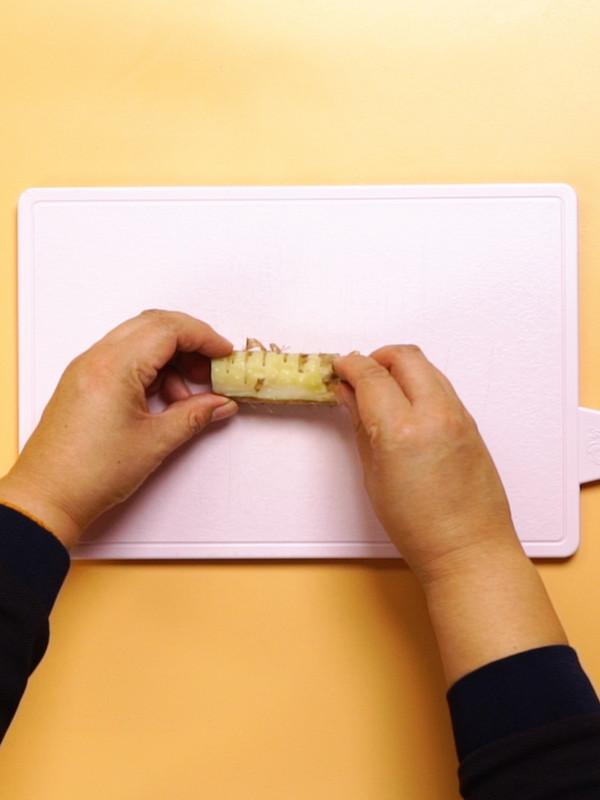 紫薯山药糕的做法图解