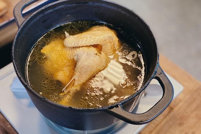 戴军推荐的汤小调原味鸡汤,10分钟即享美味成品图