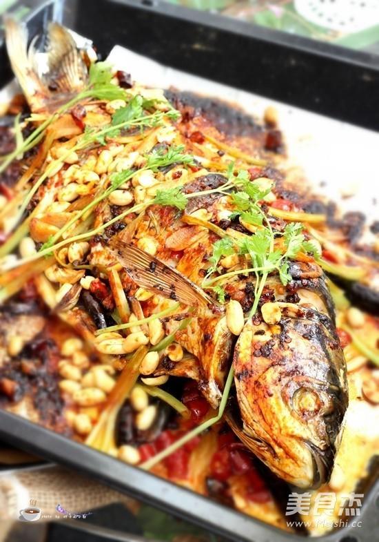 万州烤鱼成品图