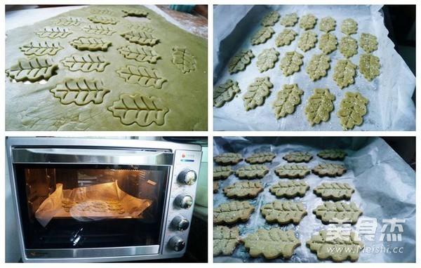 抹茶砂糖饼干的家常做法