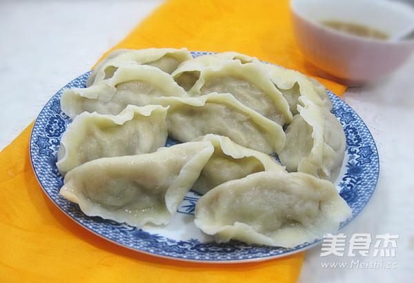 扇贝猪肉白菜饺子怎样煮
