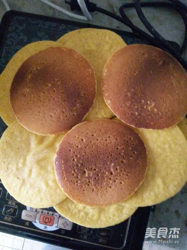 香甜玉米饼的家常做法