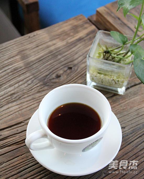 手冲咖啡成品图