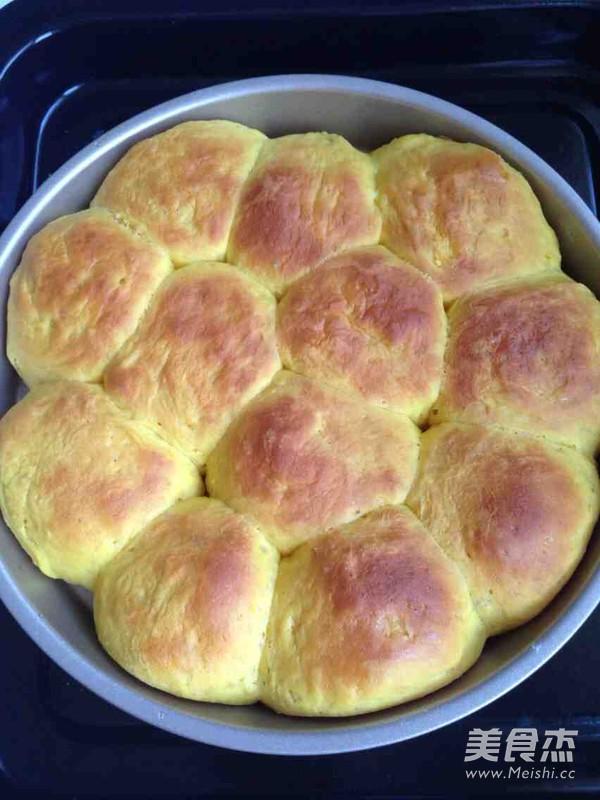 南瓜小面包的制作方法