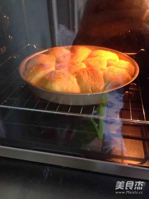 南瓜小面包的制作