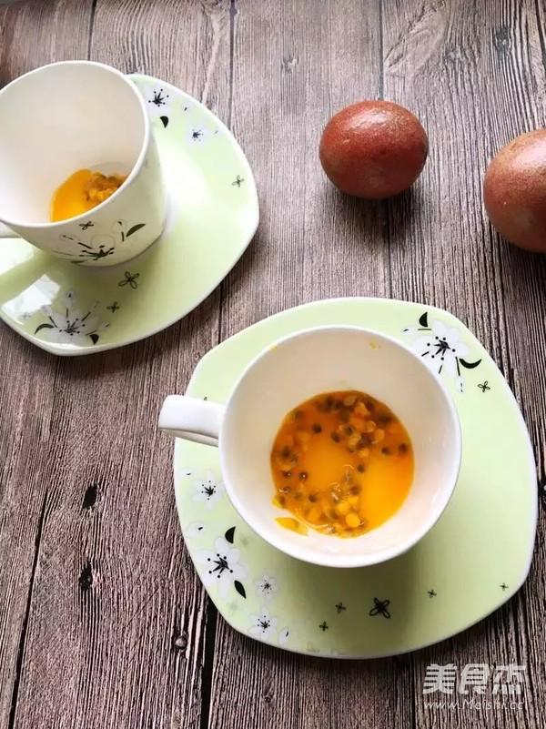 【在冬天也可以神采飞扬】百香果蜂蜜水的做法图解