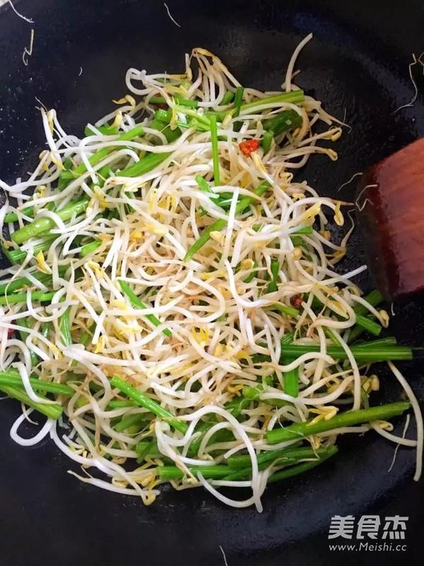 清炒绿豆芽怎么做