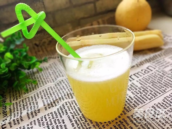 甘蔗雪梨汁成品图