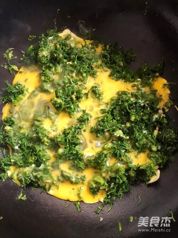 荠菜炒鸡蛋怎么做