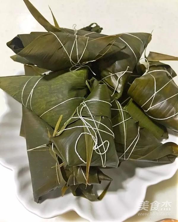 蜜枣红豆花生粽子的做法大全