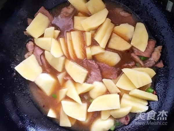 土豆猪肉炖粉条怎么炒
