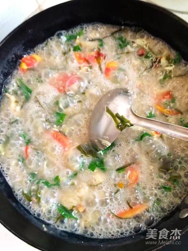 苋菜面筋汤的做法大全
