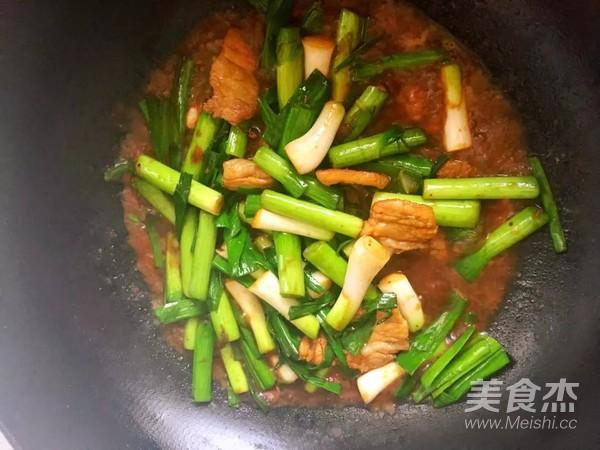 酱香蒜苗炒肉怎么做
