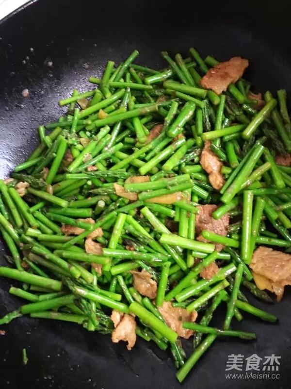 芦笋炒肉片怎么炒