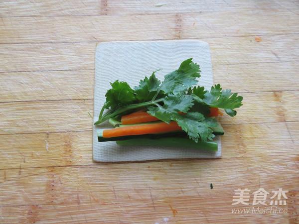 豆腐皮卷菜怎么吃