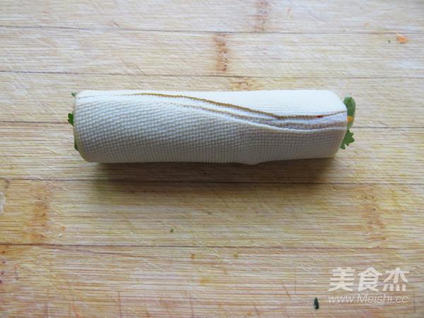 豆腐皮卷菜怎么做