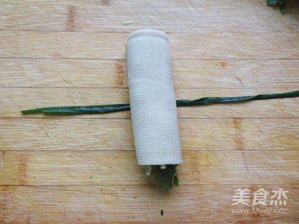 豆腐皮卷菜怎么炒