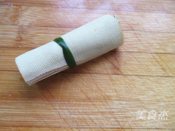 豆腐皮卷菜怎么煮