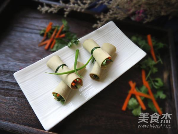 豆腐皮卷菜怎么炖