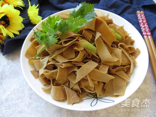 酱香豆腐皮成品图