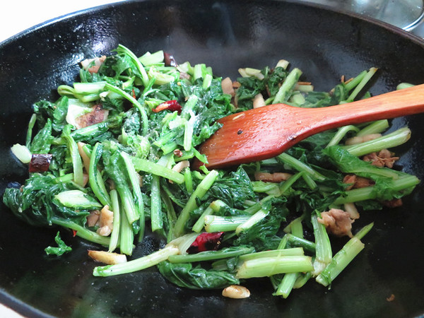 小白菜炖粉条怎么煮