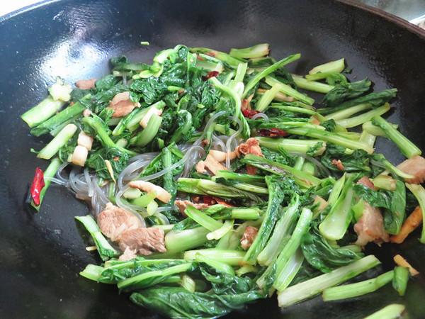 小白菜炖粉条怎么炖