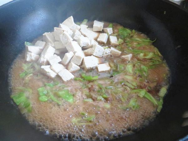 杂烩菜拌面怎样炒
