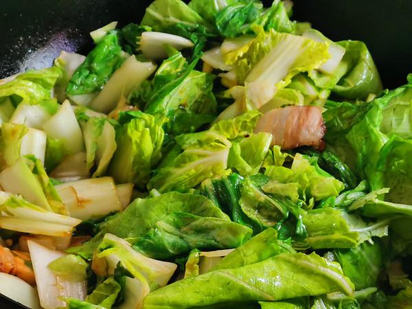 奶白菜炒五花肉怎么做