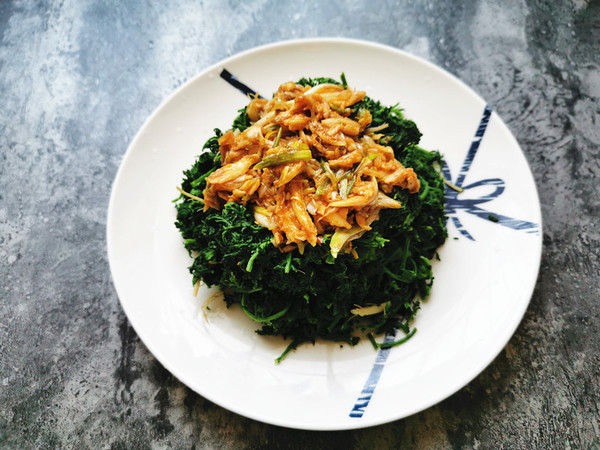 初春吃野菜,米米蒿别错过的步骤