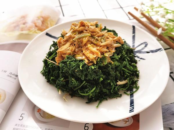 初春吃野菜,米米蒿别错过成品图