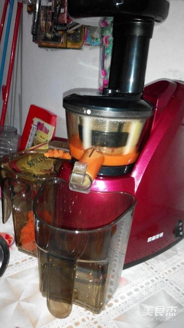 红萝卜橙汁的简单做法