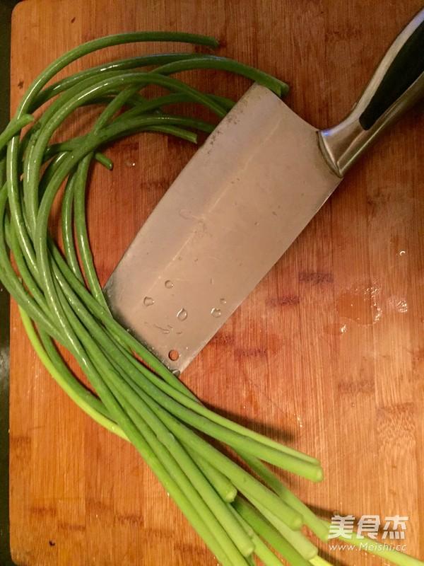 蒜苔肉丝的做法大全