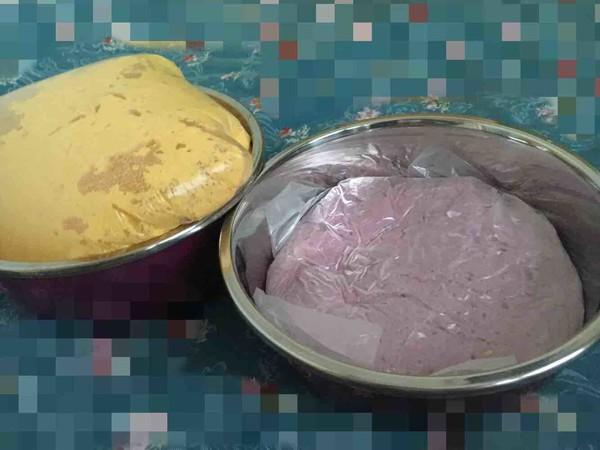 紫薯玫瑰花卷的做法图解