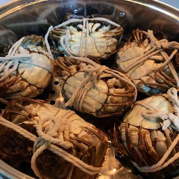 阳澄湖大闸蟹的做法图解