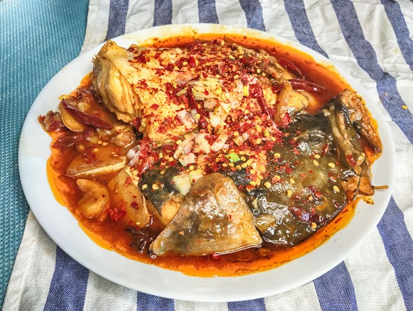 红烧碟鱼头怎么炒