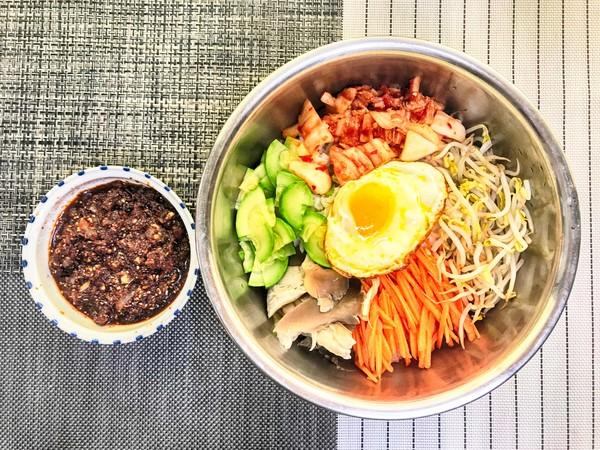 韩式拌饭怎么煮