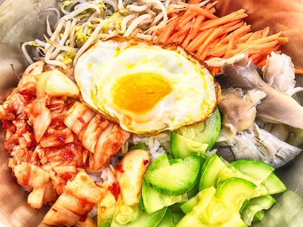 韩式拌饭怎么炖
