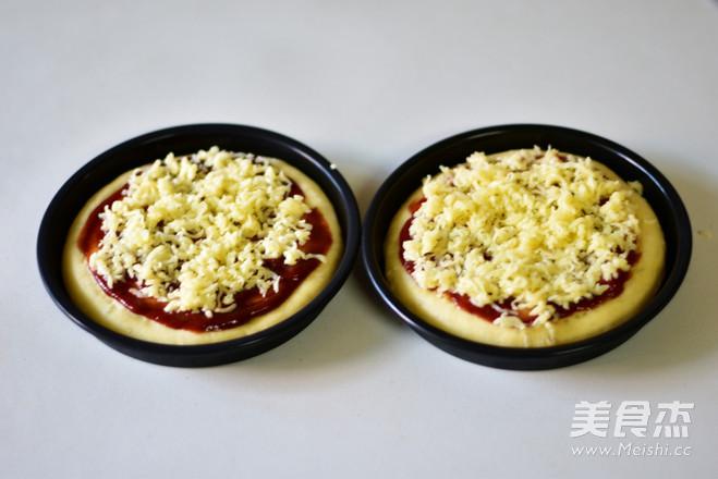 彩蔬披萨怎么吃