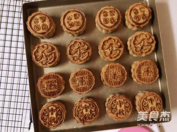 五仁月饼的做法大全