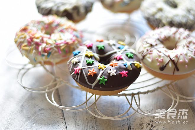 黑白巧克力甜甜圈怎样炖