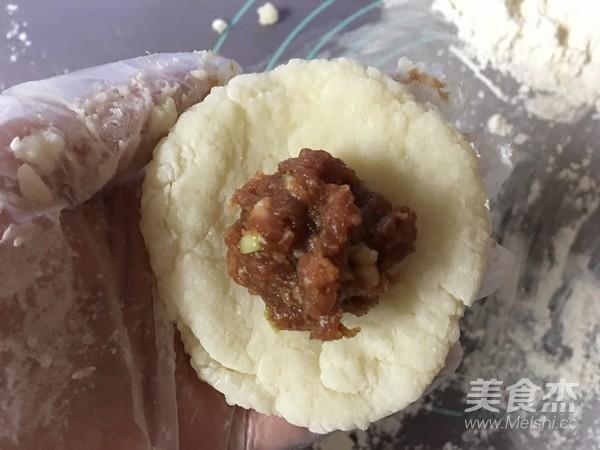 糯米鲜肉塌饼怎么炒